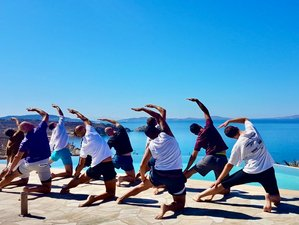 8 Day Men Only Luxury Spiritual Yoga Retreat in Mykonos, Cyclades Islands