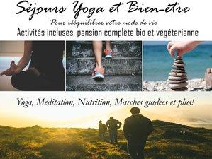 6 jours en stage de yoga et vitalité pour vous faire du bien à Salles-la-Source, Aveyron