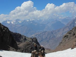 5 Day Glaciers Heritage Horseback Riding Holiday in Central Andes, Valparaiso Region