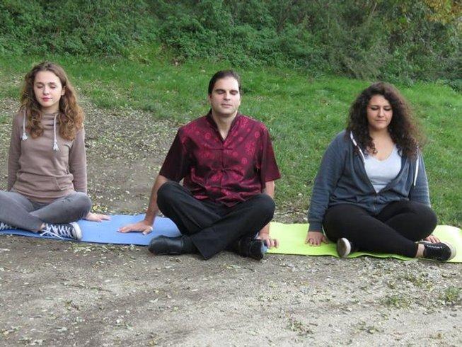 8 días certificación de profesor de yoga en Campania, Italia