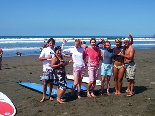8 Days All Levels Surf Camp in Jaco, Costa Rica