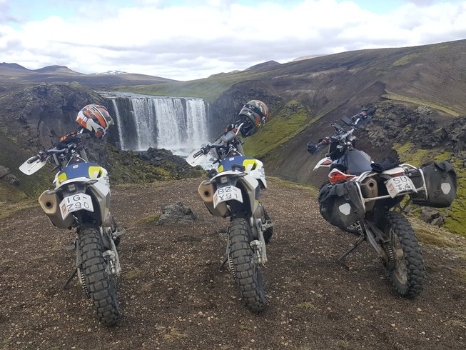 7 Days Adventurous Motorcycle Tour in Iceland