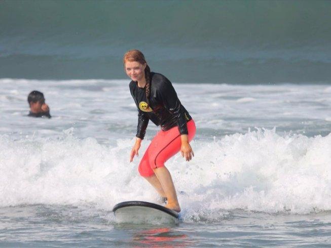 6 Tage Detox, Surf, und Yoga Retreat in Bali, Indonesien