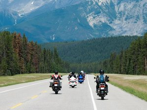 "15 Day Stunning ""Canadian Rockies"" Guided Motorcycle Tour through USA and Canada"