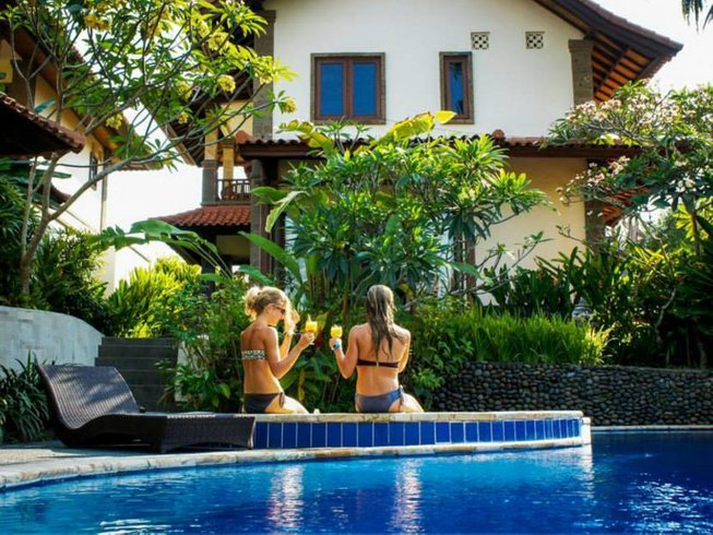 30 Days Get It All Pack Surf and Yoga Retreat in Bali