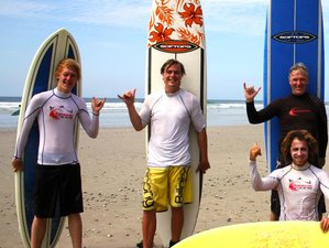 7 Days Refreshing Surf Camp in Malpais, Costa Rica