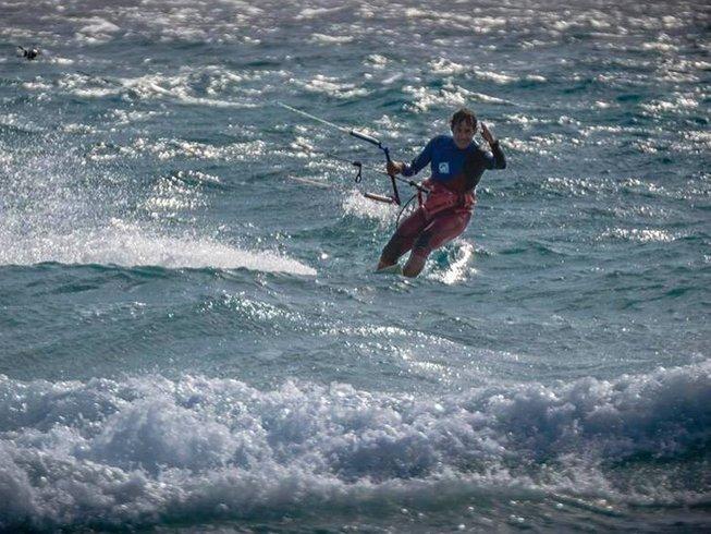 7 Days Kite Surf Camp in Sant'Antioco, Sardinia, Italy