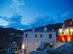 3 días de serenas vacaciones de yoga en Zagori, Grecia