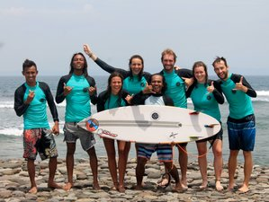 6 Day Wave Surf Camp in Senggigi, Lombok