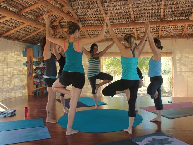 28 jours-200h de formation de professeur de yoga en immersion en Basse Californie, Mexique