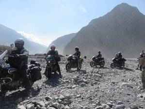 22 Days Motorbike Adventure Tour Over the Himalaya in Nepal