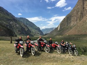 10 Day Altai Mountains Guided BMW Motorcycle Tour in Siberia, Russia
