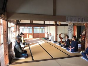6 Day Japanese Culture Experience and Zen Meditation Retreat in Oita, Hayami