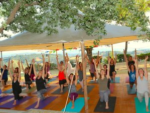 22 Days Level 1 200-Hour Yoga Teacher Training in Tuscany, Italy, YAI certified