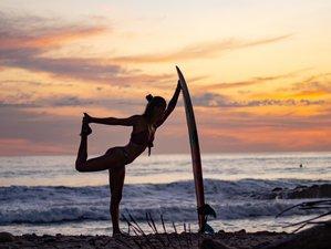 4 jours en stage de yoga, surf et découverte permaculture à Odiáxere, Algarve
