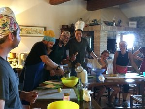 6 Day Cooking with Passion and Market Tours in Tuscany, Pomarance
