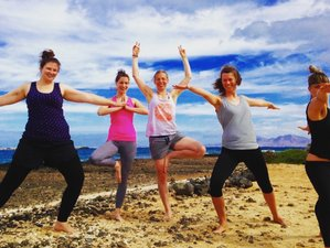 8 Days Small and Private Vegan Yoga Retreat in Spain