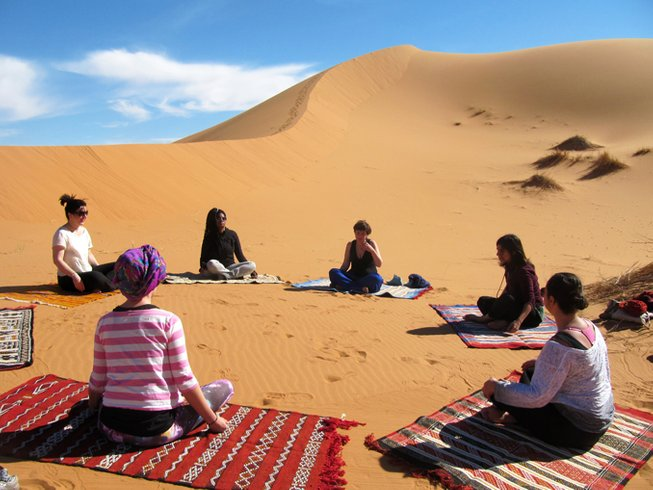 5 Days Yoga and Movement Retreat in the Moroccan Desert