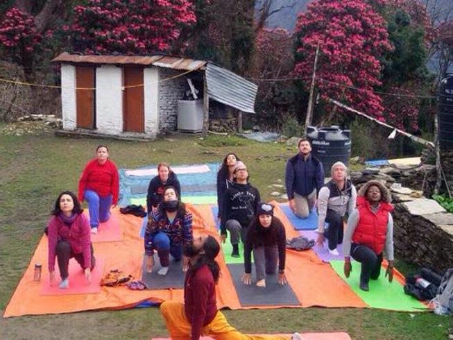 10-Daagse Ghorepani - Poon Hill Trekking en Yoga Retraite in Nepal