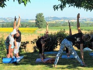 7 jours en stage de yoga kundalini, yin yoga et repas ayurvédiques Labécède-Lauragais, Occitanie