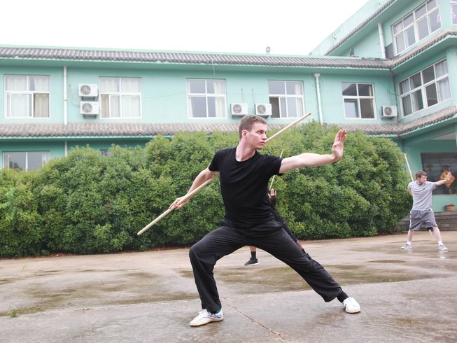30 Days Intensive Wing Chun Training in China