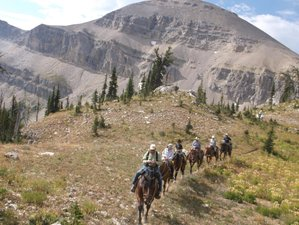 10 Day Trilobite Range Pack Trip: Hiking and Horseback Riding in The Bob Marshall Wildernes, Montana