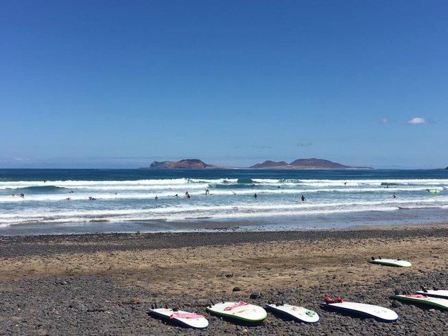 8 Days Wave and Kitesurfing Camp in Caleta de Famara, Teguise, Spain