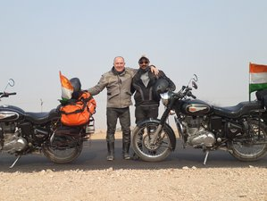 10 Days Royal Rajasthan Ride Guided Motorcycle Tour in India
