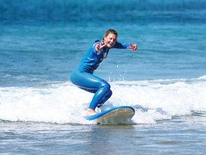8 Day Surf Coaching (All Inclusive) in Costa da Caparica, Lisbon