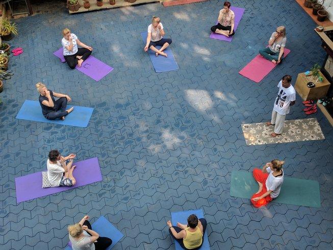 14 jours en stage de yoga et ayurveda dans le Kerala, Inde