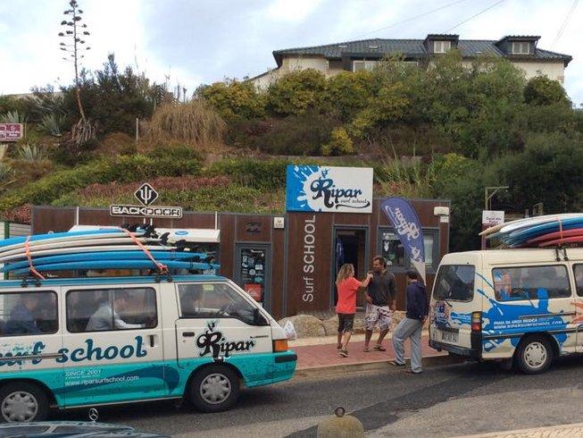 4 Tage Surf und Yoga Retreat in Lissabon, Portugal