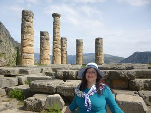 4 Days Summer or Autumn Wellbeing and Cultural Retreat in Amazing Delphi, Greece