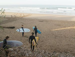 8 Day Beginner's Vegan Surf Camp in Tamraght, Agadir