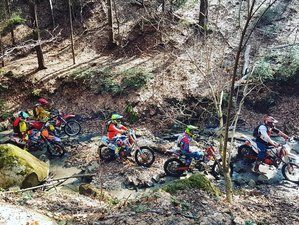 8 Days Thrilling Guided Enduro Motorcycle Tour in the Wonderful Buzău County, Romania