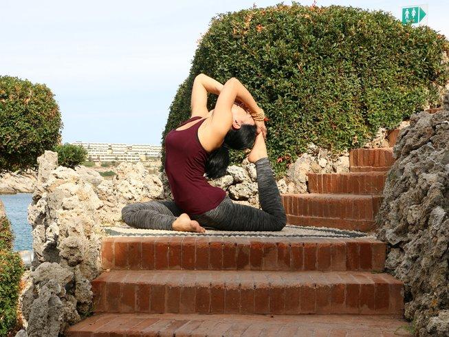 8 días retiro de yoga Hatha y Vinyasa en Grecia