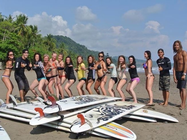 14 Days Costa Rica Surf Camp and Spanish Lessons