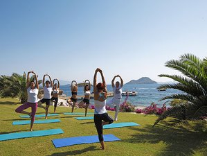 7 Nights Detox Retreat in a Luxury Sea View Room with Balcony in Bodrum, Turkey