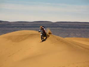 "8 Day Marrakesh Loop Guided Enduro Motorcycle Tour in Morocco via Zagora ""The Gate to the Sahara"""