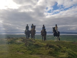 4 Days Countryside and Coast Riding Adventure in County Antrim, North Ireland