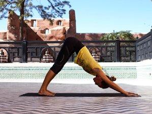4 jours en stage de yoga et bien-être à Marrakech, Maroc