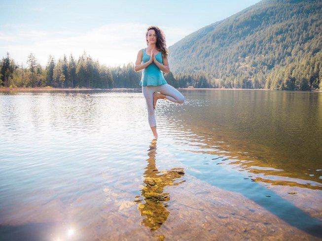 3 jours en retraite de yoga et méditation pour femmes en Colombie Britannique, Canada