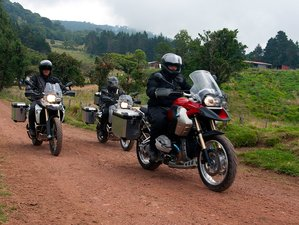 6 Day Rainforests, Beaches, and Volcanoes Self-Guided Motorcycle Tour in Costa Rica