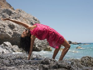 8 Tage Hatha Flow Yoga Retreat mit Federica auf Kreta