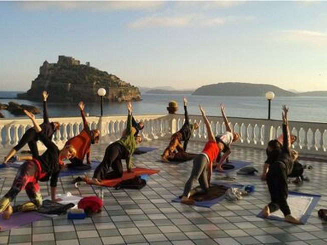 8 Days of Yoga and Meditation on the island of Ischia, Italy