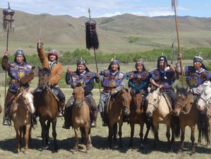 10 Days All Inclusive Horse Riding Holiday Adventure in Mongolia