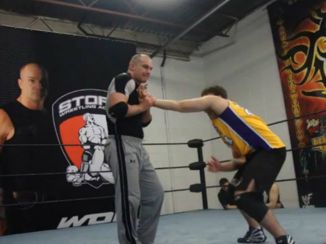 12 Weeks Wrestling Training with WWE Superstar in Canada