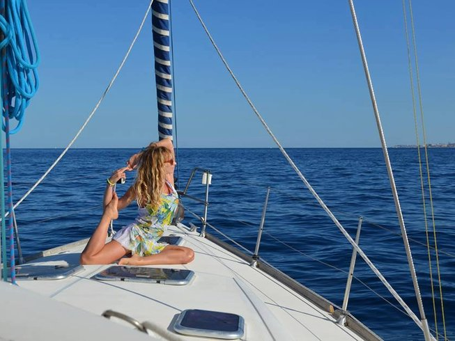 8 Days Sailing Yoga Retreat Italy and Malta