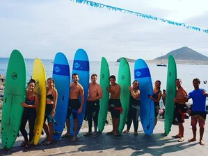 8 Day Unforgettable Camp for Surf, SUP, Windsurf in El Médano, Tenerife, Canary Islands