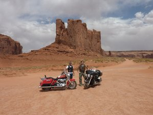 "15 Days ""Western Discovery"" Motorcycle Tour USA"