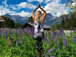 5 jours en stage de yoga et randonnée dans un chalet 5* avec prestations haut de gamme à Chamonix